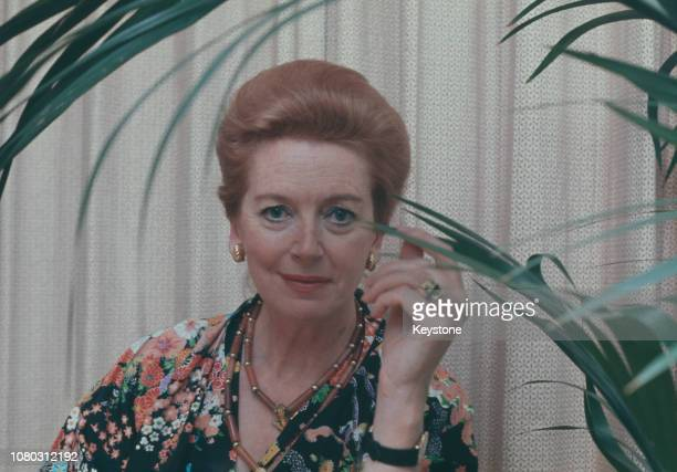Scottish actress Deborah Kerr circa 1980