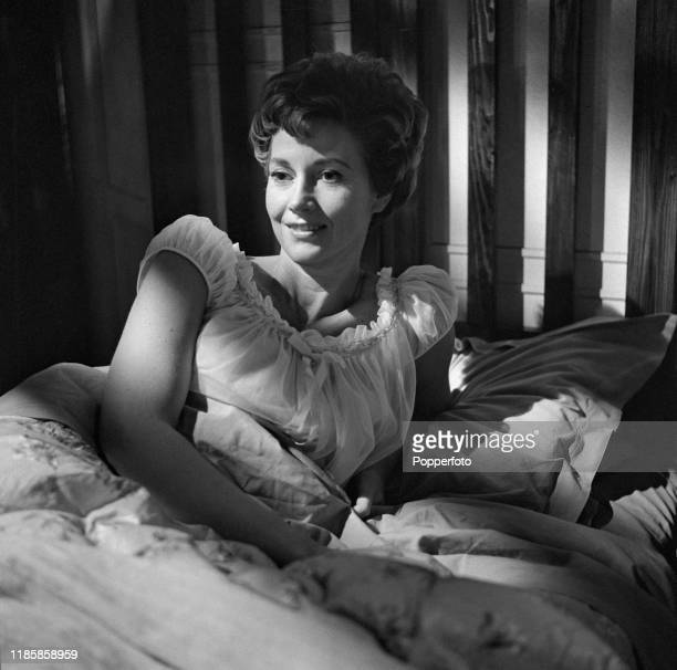Scottish actress Rona Anderson plays the character of Anna Munro in the ABC Television drama 'Public Eye - No, No, Nothing Like That' in September...
