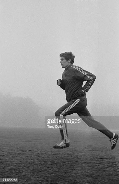 Scottish athlete Ian Stewart in training circa 1980 Stewart won a bronze medal in the Men's 5000 metres at the 1972 Olympics