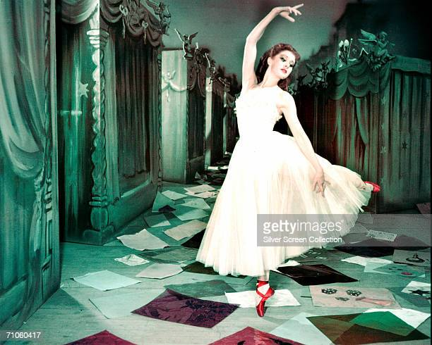 Scottish ballerina Moira Shearer as Victoria Page in 'The Red Shoes' directed by Michael Powell and Emeric Pressburger 1947