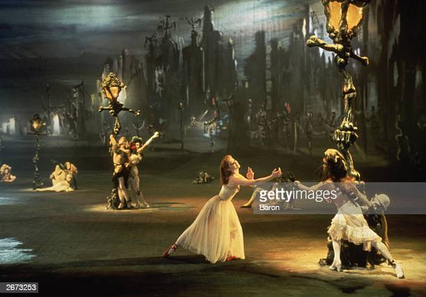 Scottish ballerina Moira Shearer stars in the classic dance film 'The Red Shoes' directed by Michael Powell and Emeric Pressburger