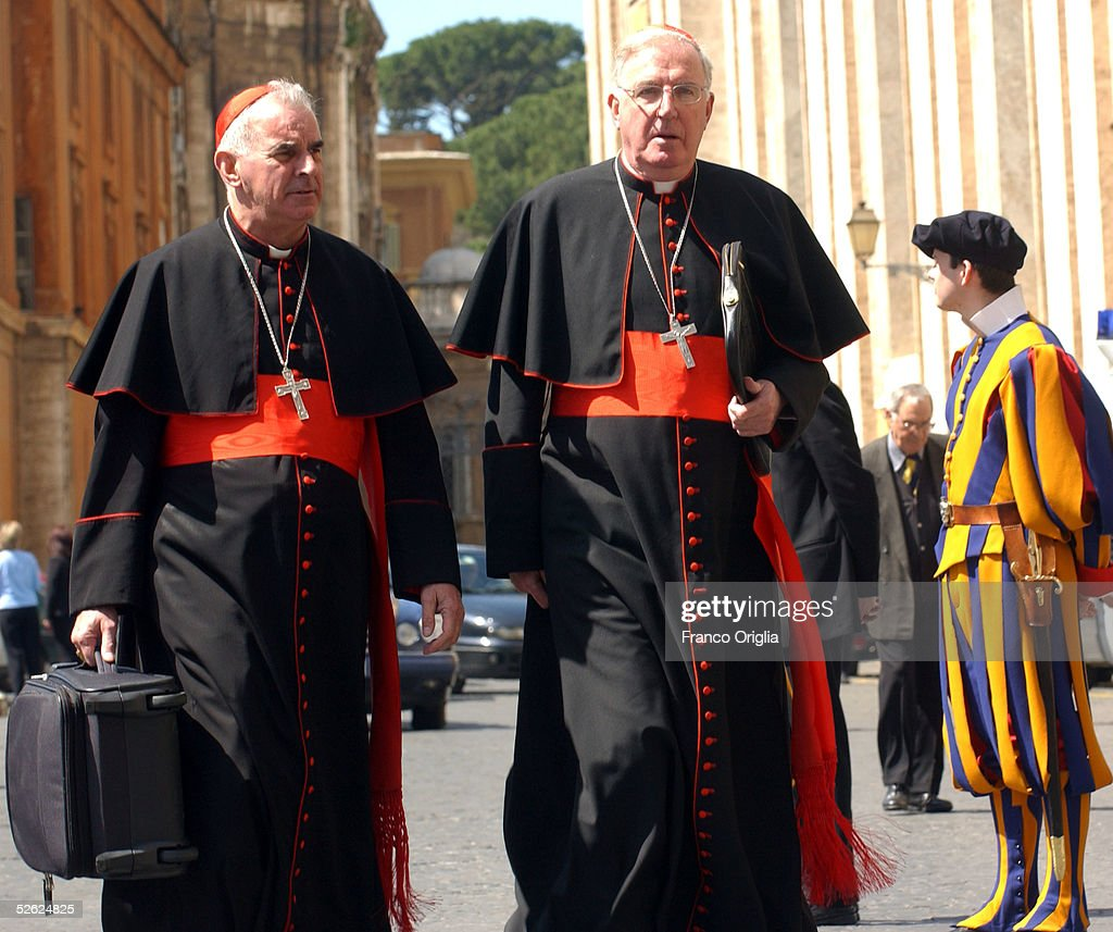 Cardinals Attend A Meeting To Prepare The Next Conclave