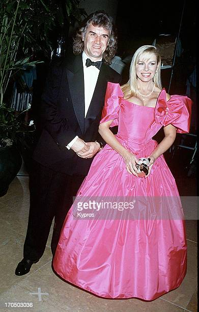 Scottish comedian and actor Billy Connolly with his wife Pamela Stephenson circa 1990