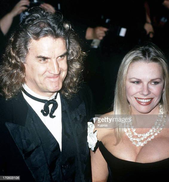 Scottish comedian and actor Billy Connolly with his wife Pamela Stephenson circa 1992