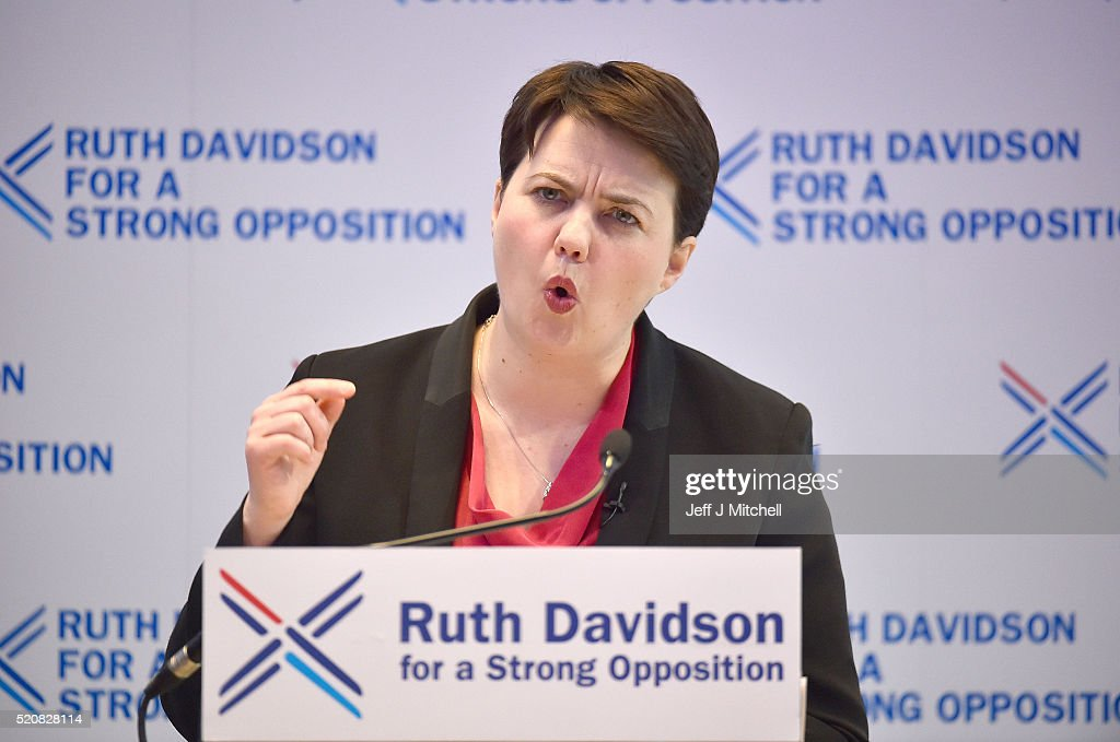 Scottish Conservatives Launch Their Election Manifesto