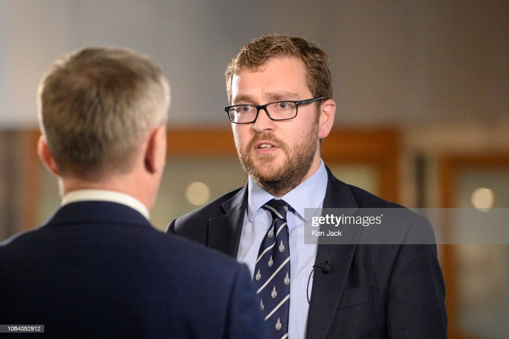 Scottish Conservative MSP Oliver Mundell, son of Secretary of ...
