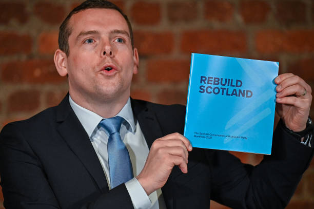 GBR: Scottish Conservatives Launch Their Election Manifesto