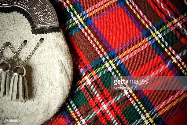 scottish culture - kilt stock photos and pictures