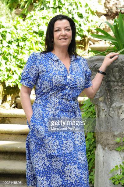 Scottish director Lynne Ramsay during A beautiful day movie photocall at Hotel de Russie. Rome, April 27th 2018