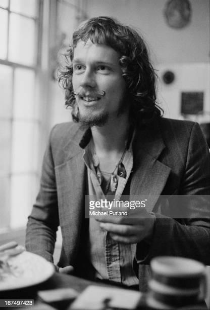 Scottish drummer Jamie Muir of British progressive rock group King Crimson 14th December 1972