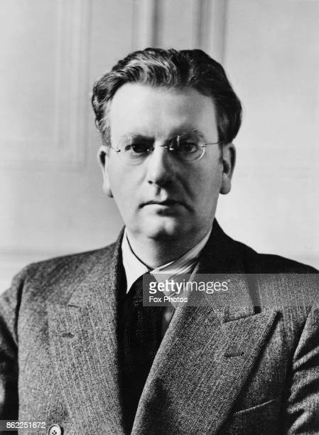 Scottish engineer and inventor John Logie Baird a pioneer in the development of the television circa 1935