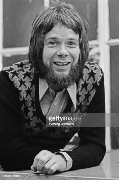 Scottish fashion designer Bill Gibb , UK, 14th January 1973.