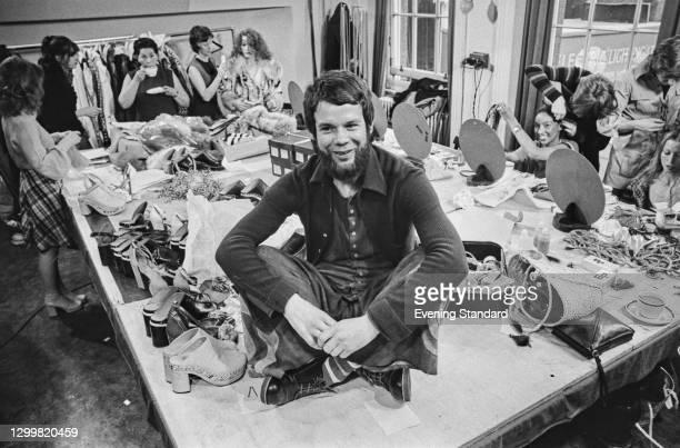 Scottish fashion designer Bill Gibb , UK, 3rd May 1972.