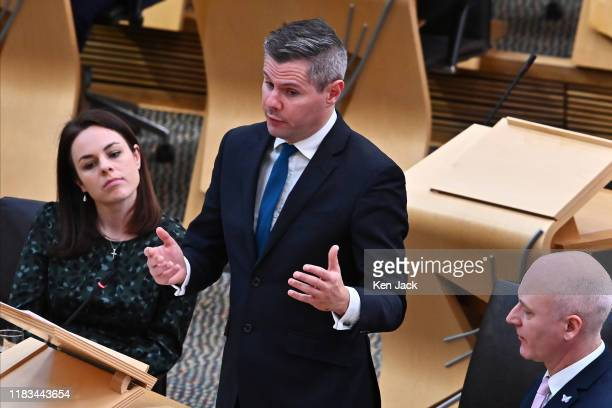 Scottish Finance Secretary Derek Mackay responds to a Topical Question in the Scottish Parliament on the implications for the Scottish budget of the...