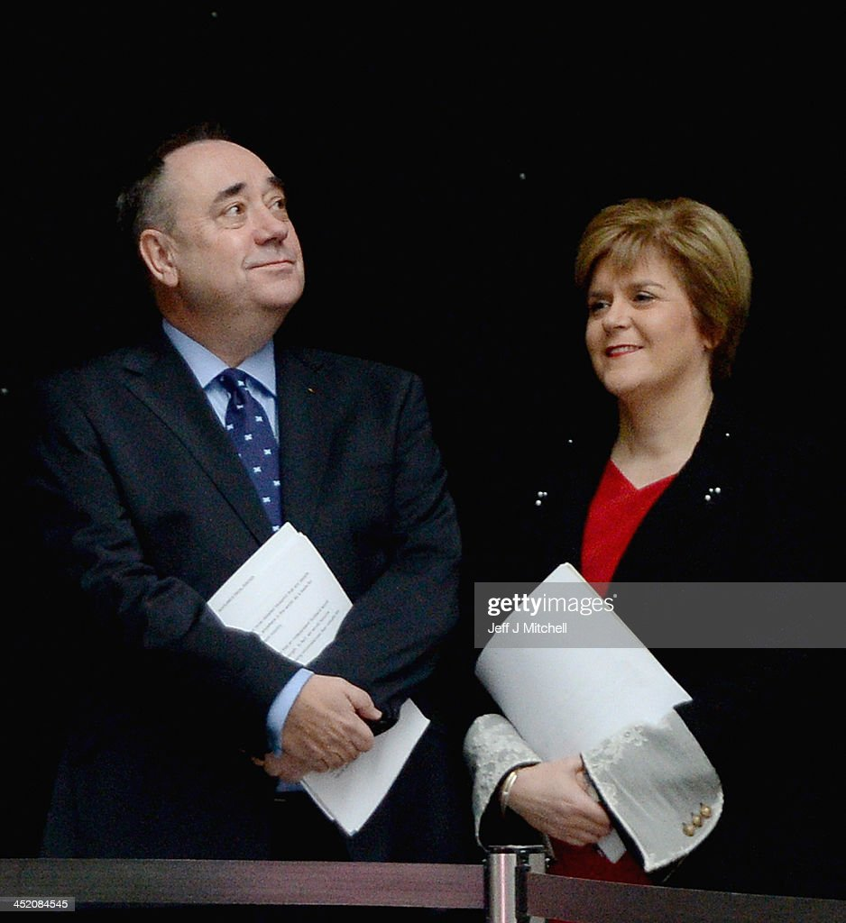 Alex Salmond Reveals The White Paper For An Independent Scotland : News Photo