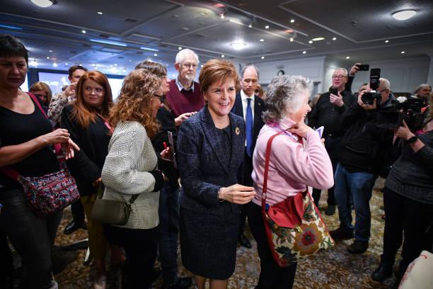 GBR: Nicola Sturgeon Announces More Support For EU Citizens In Scotland