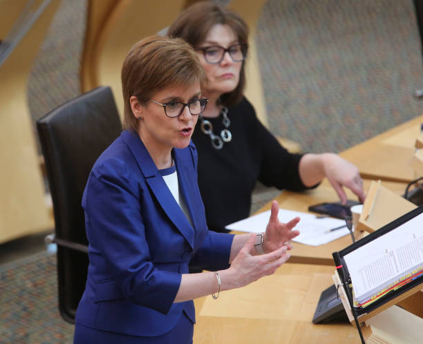GBR: Scottish First Minister's Questions