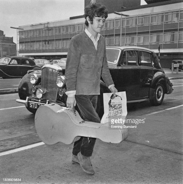 Scottish folk and pop singer and musician Donovan , UK, 7th July 1965.