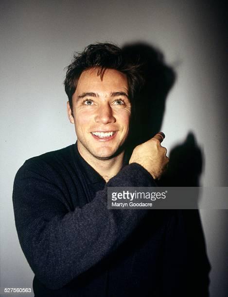 Scottish footballer Ally McCoist portrait United Kingdom 1997