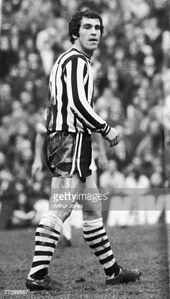 Scottish footballer Bobby Moncur of Newcastle United FC 31st December 1973