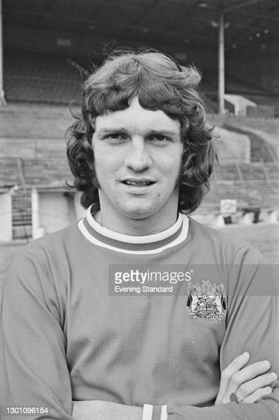 Scottish footballer Don or Donnie Gillies of Bristol City FC, a League Division 2 team at the start of the 1973-74 football season, UK, 21st August...