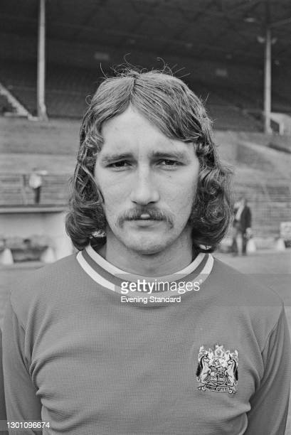 Scottish footballer Gerry Gow of Bristol City FC, a League Division 2 team at the start of the 1973-74 football season, UK, 21st August 1973.