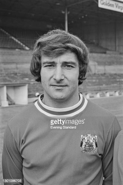 Scottish footballer Gerry Sweeney of Bristol City FC, a League Division 2 team at the start of the 1973-74 football season, UK, 21st August 1973.