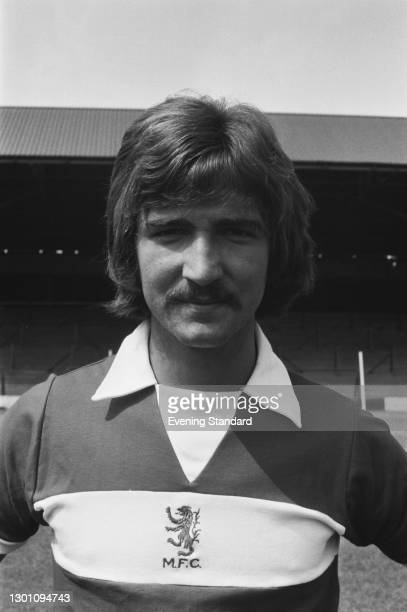 Scottish footballer Graeme Souness of Middlesbrough FC, a League Division 2 team at the start of the 1973-74 football season, UK, 30th July 1973.