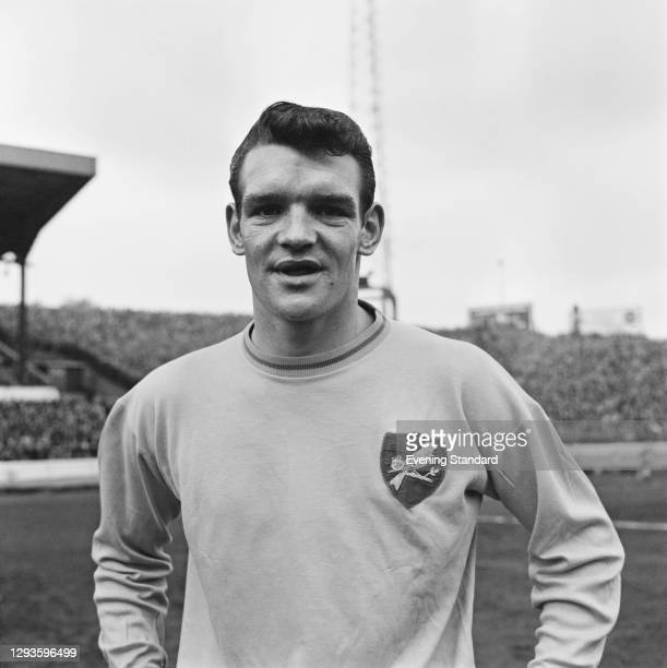 Scottish footballer Hugh Curran of Norwich City FC, UK, February 1968.