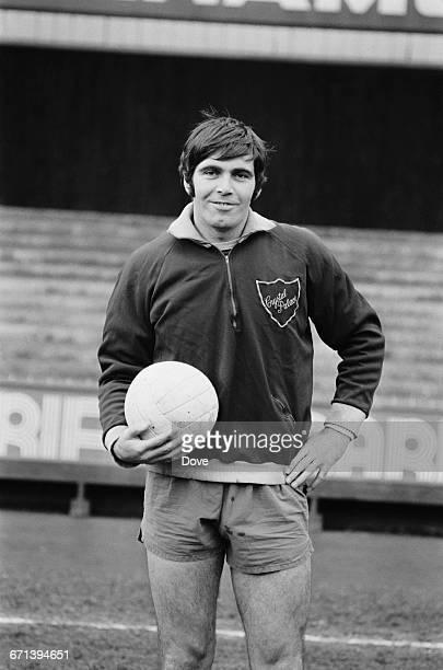 Scottish footballer John Hughes of Crystal Palace F.C., UK, 18th November 1971.
