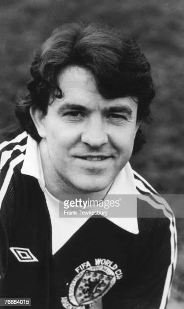 Scottish footballer John Robertson of Nottingham Forest FC 18th May 1978
