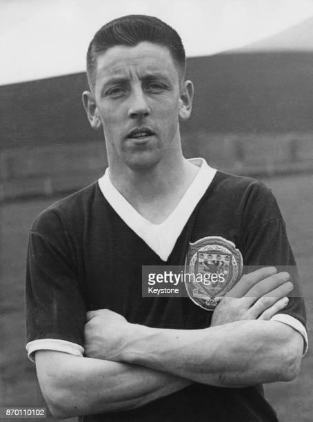 Scottish footballer Stewart Imlach of Nottingham Forest FC 5th May 1958