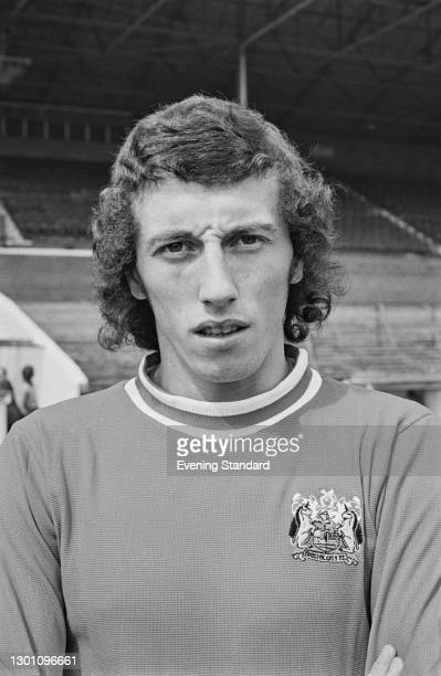 Scottish footballer Tom Ritchie of Bristol City FC, a League Division 2 team at the start of the 1973-74 football season, UK, 21st August 1973.