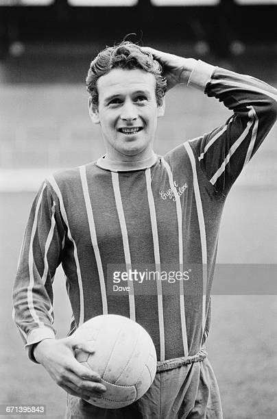 Scottish footballer Willie Wallace of Crystal Palace F.C., UK, 18th November 1971.