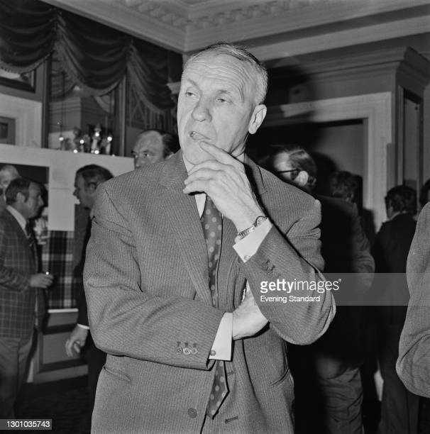 Scottish former footballer Bill Shankly , manager of Liverpool FC, UK, 23rd May 1973.