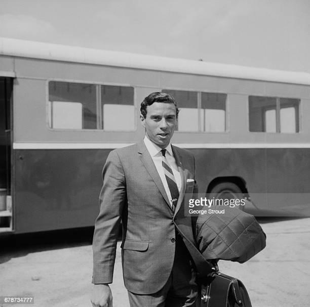 Scottish Formula One racing driver Jim Clark at London Airport UK 30th May 1966