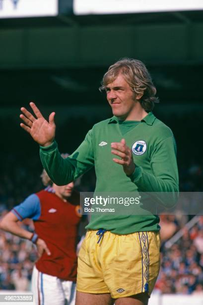 Scottish goalkeeper George Wood of Everton FC circa 1978