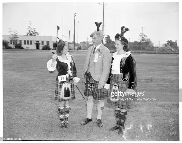 Scottish Highland gathering 29 August 1953 Janis GoodemootPinkie SutoriusPenny LoughanJoan Ellen FisherLinda MacDonald 2 yearsMichael RobinsonBarbara...