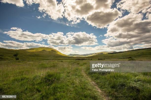 scottish highlands - landschaft stock pictures, royalty-free photos & images