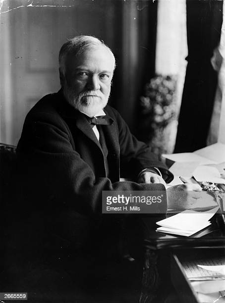 Scottish industrialist and philanthropist Andrew Carnegie The son of a Dunfermline linen weaver Carnegie emigrated to Pittsburgh in 1848 After the...
