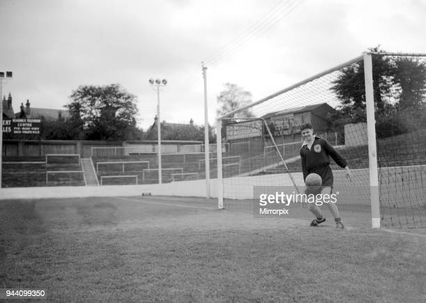 Scottish International Football Players in team training session for Scotland 14th October 1954
