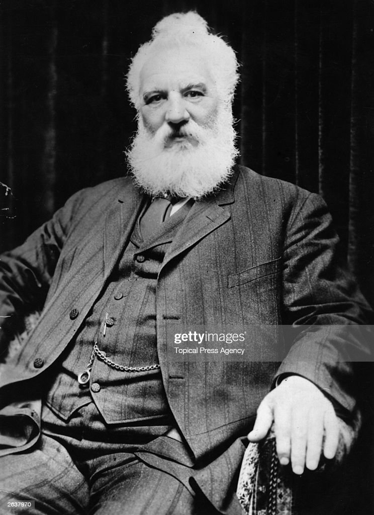 Scottish Inventor Alexander Graham Bell Who Invented The