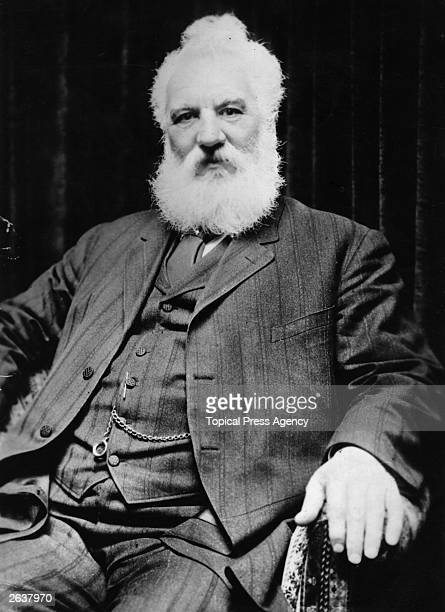 Scottish inventor Alexander Graham Bell who invented the telephone Bell born in Edinburgh worked with his father Scottish educator Alexander Melville...