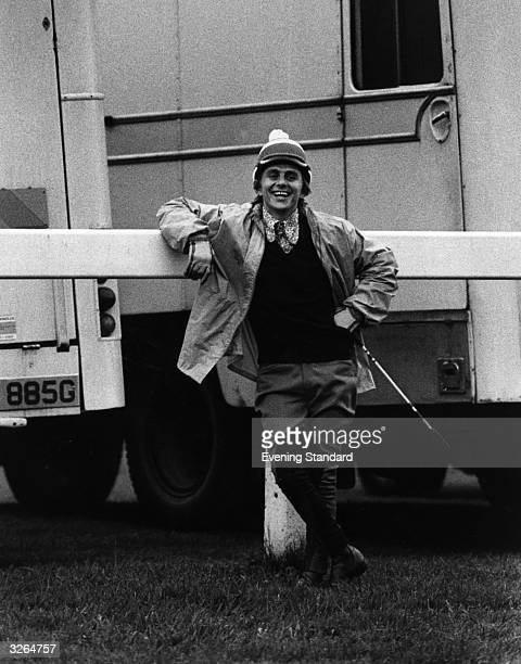Scottish jockey Willie Carson who recorded his first Classic success in 1972 winning the 2000 Guineas on 'High Top' He won the Derby in 1979 and 1980