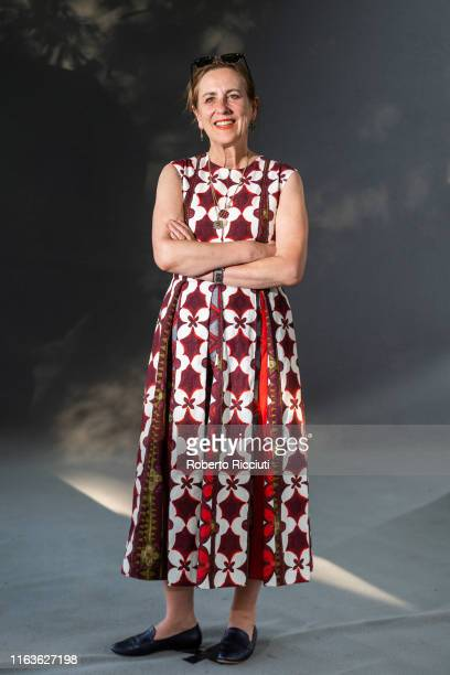 Scottish journalist and television presenter Kirsty Wark attends a photocall during the Edinburgh International Book Festival 2019 on August 24, 2019...
