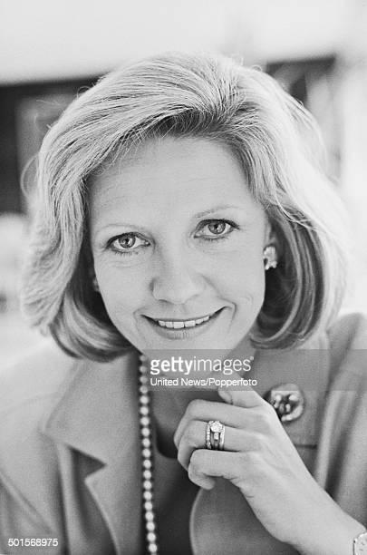 Scottish journalist and wife of Rupert Murdoch Anna Murdoch in London on 19th June 1985