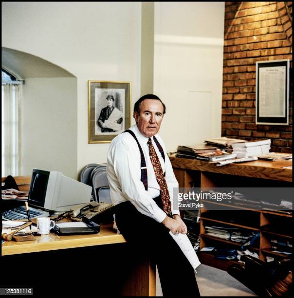 Scottish journalist broadcaster and editor of the Sunday Times Andrew Neil 23rd March 1993