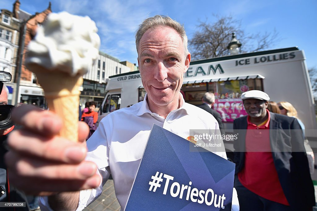 Jim Murphy Meets Voters At An Election Rally : News Photo