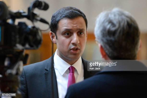 Scottish Labour leadership contender Anas Sarwar comments on Scottish Labour's interim leader Alex Rowley's decision to stand down pending...