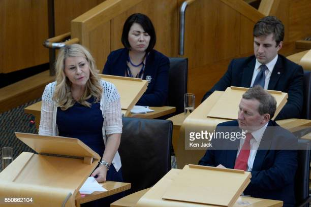 Scottish Labour Shadow Community Minister Pauline McNeill asks an Urgent Question on the discovery of Grenfelltype cladding on highrise flats in...